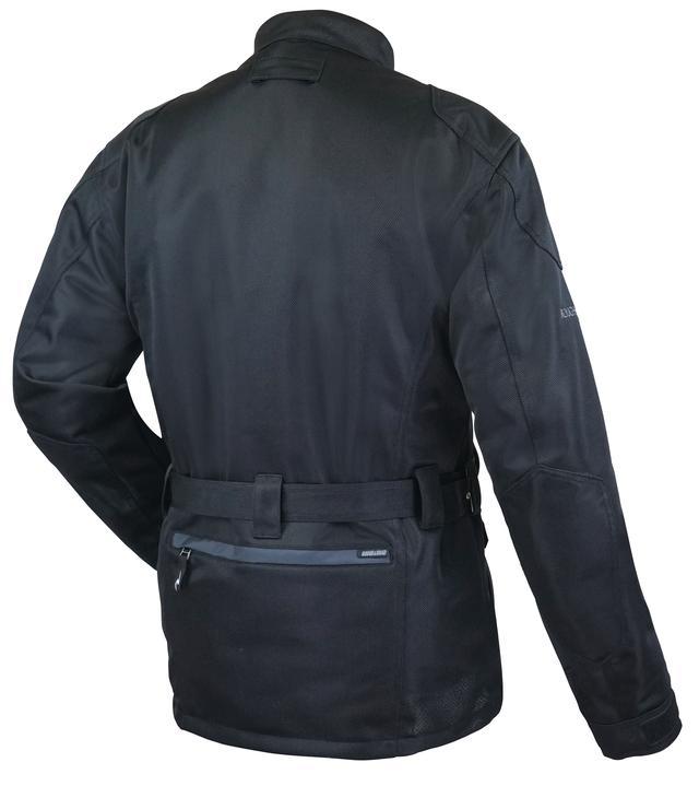 画像3: ツーリングに適したロング丈、防風インナー付きで幅広い着用シーンに対応