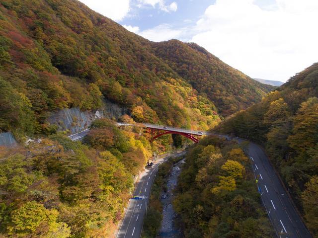 画像: 遠野市と釜石市の間にある「仙人峠道路」。