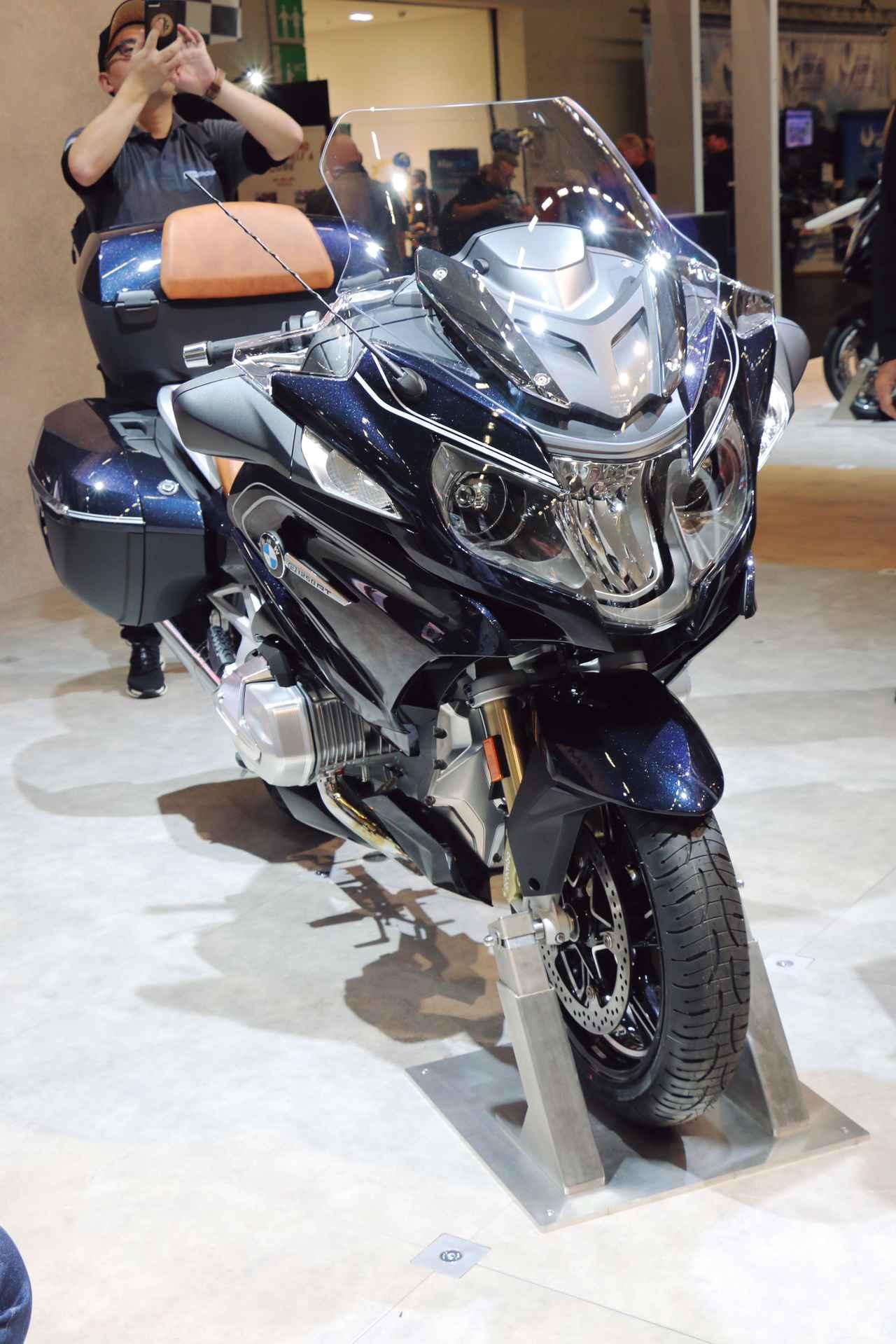 画像2: 伝統のフラットツインを大幅に改良したツーリングモデルの最高峰『BMW R1250RT』