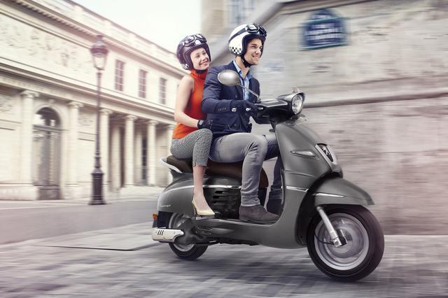 画像1: 話題のプジョー「ジャンゴ」に高速道路にも乗れる150ccと原付一種免許で運転できる50ccモデルが新登場!!