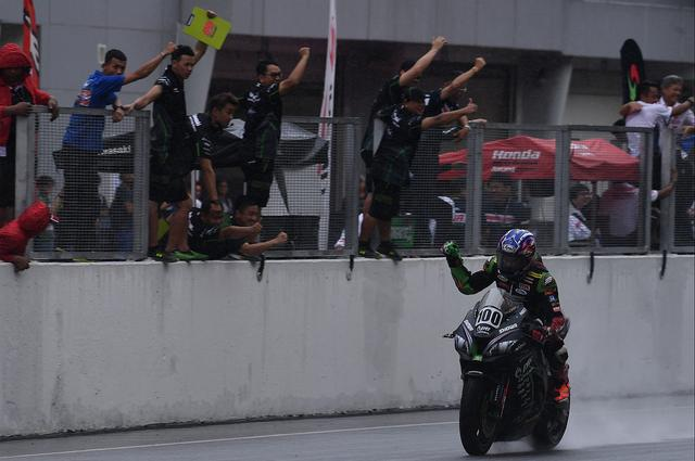 画像: アジア選手権ASBKは、2レース終えてランキングトップが、このワロコン!