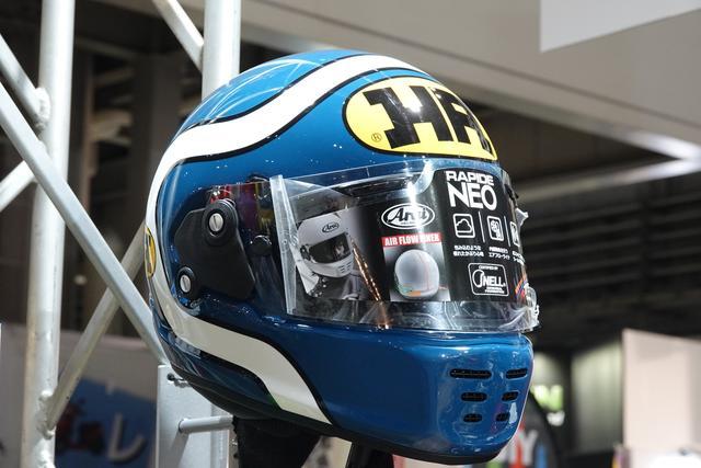 画像2: アライヘルメットの復刻ロゴが「HA」!