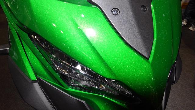 画像9: カワサキブースはまたがりOKの車両がいっぱい!【大阪モーターサイクルショー2019】