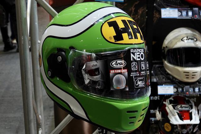 画像1: アライヘルメットの復刻ロゴが「HA」!