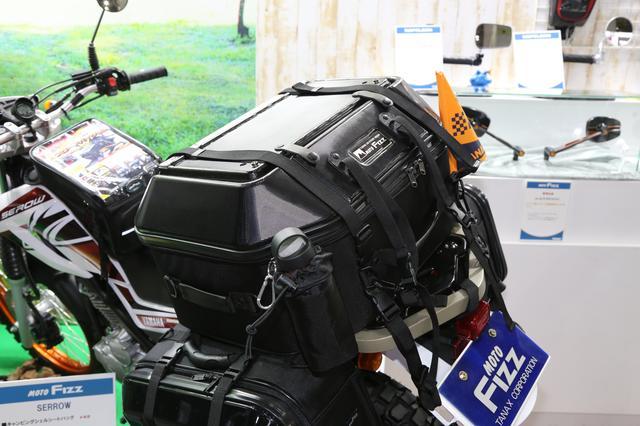 画像3: 旅ライダーを悩ませる「テーブル問題」をバッグが一発解決!
