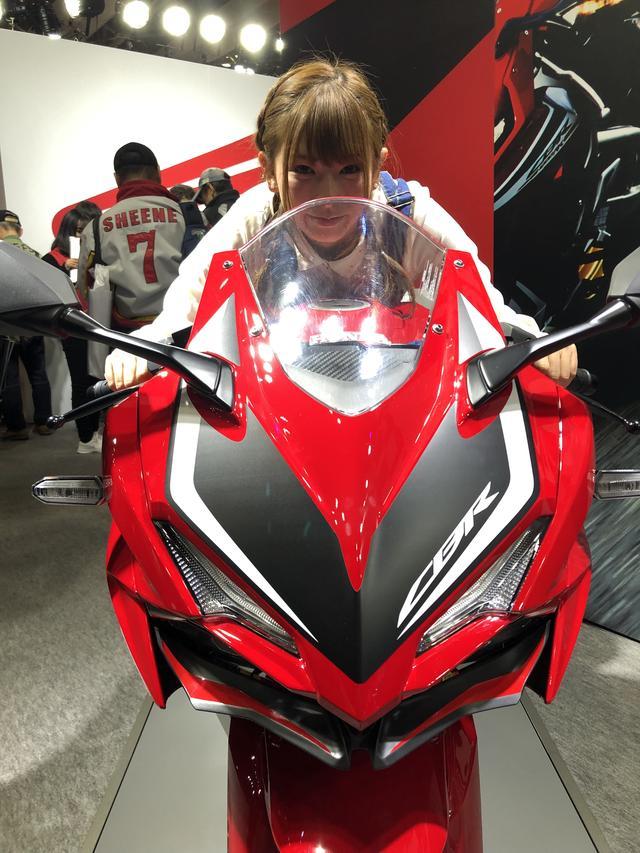 画像: バイクに乗る前からCBRには憧れてました!
