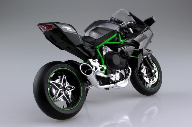 画像5: AOSHIMAの「1/12 完成品バイク」人気の2車種