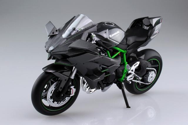 画像6: AOSHIMAの「1/12 完成品バイク」人気の2車種