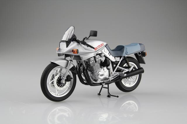 画像1: AOSHIMAの「1/12 完成品バイク」人気の2車種