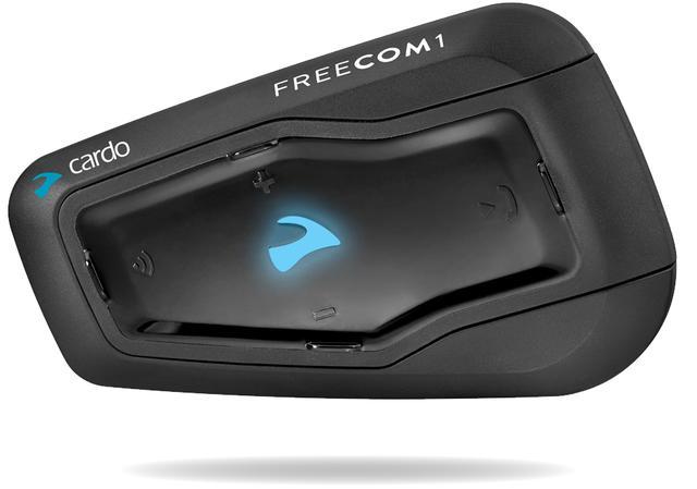 画像: FREECOM1は、シングルライダー用のシステム