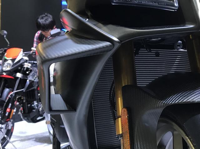 画像: カーボン MotoGP ウイングレット