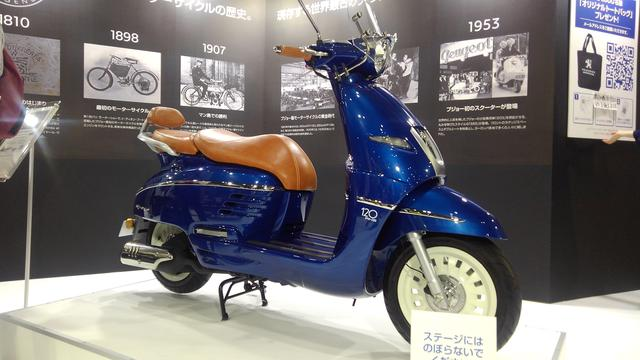 画像2: ジャンゴの120周年記念モデルが東京モーターサイクルショーに登場!