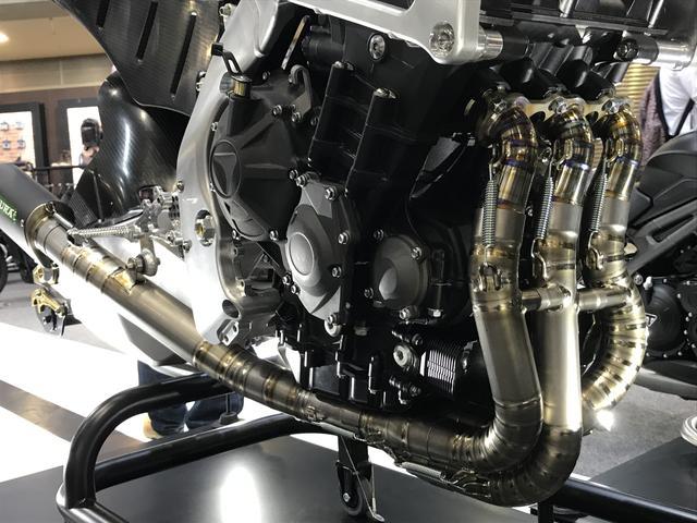 画像3: Moto2マシンも展示!