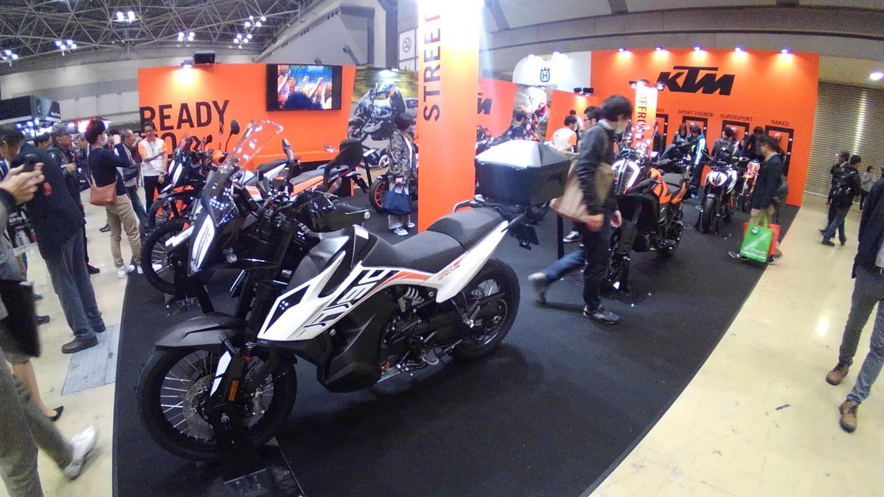 画像5: 大阪には出展しなかったKTMは東京での注目メーカーのひとつ