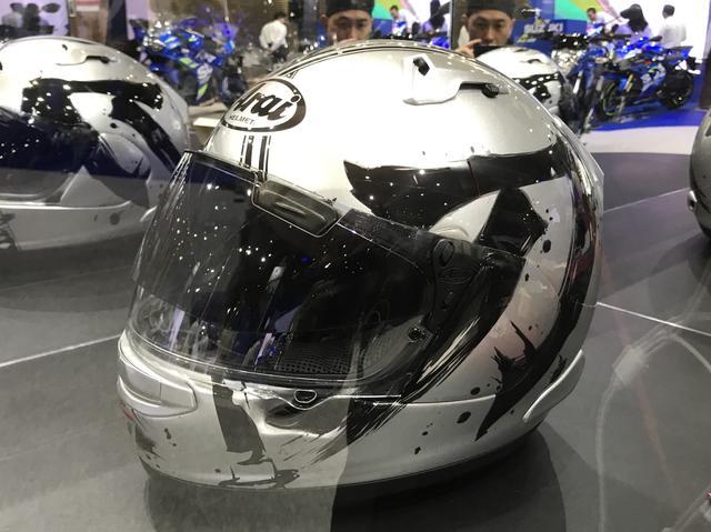 画像: コラボヘルメット…カッコいい!