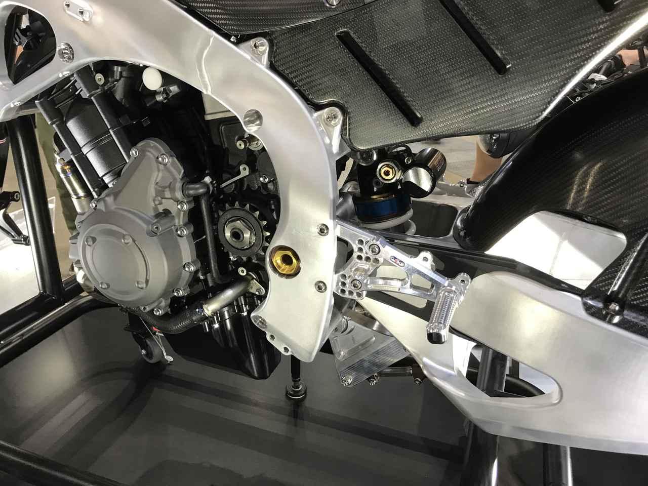 画像4: Moto2マシンも展示!