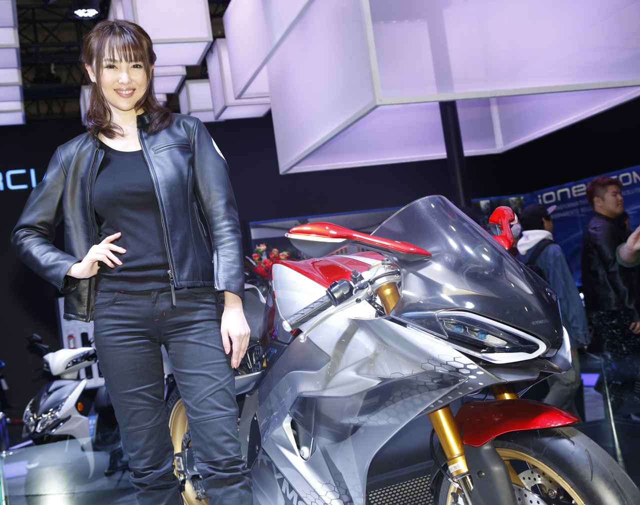 Images : 5番目の画像 - TMCS2019 美女コンパニオン図鑑! - webオートバイ
