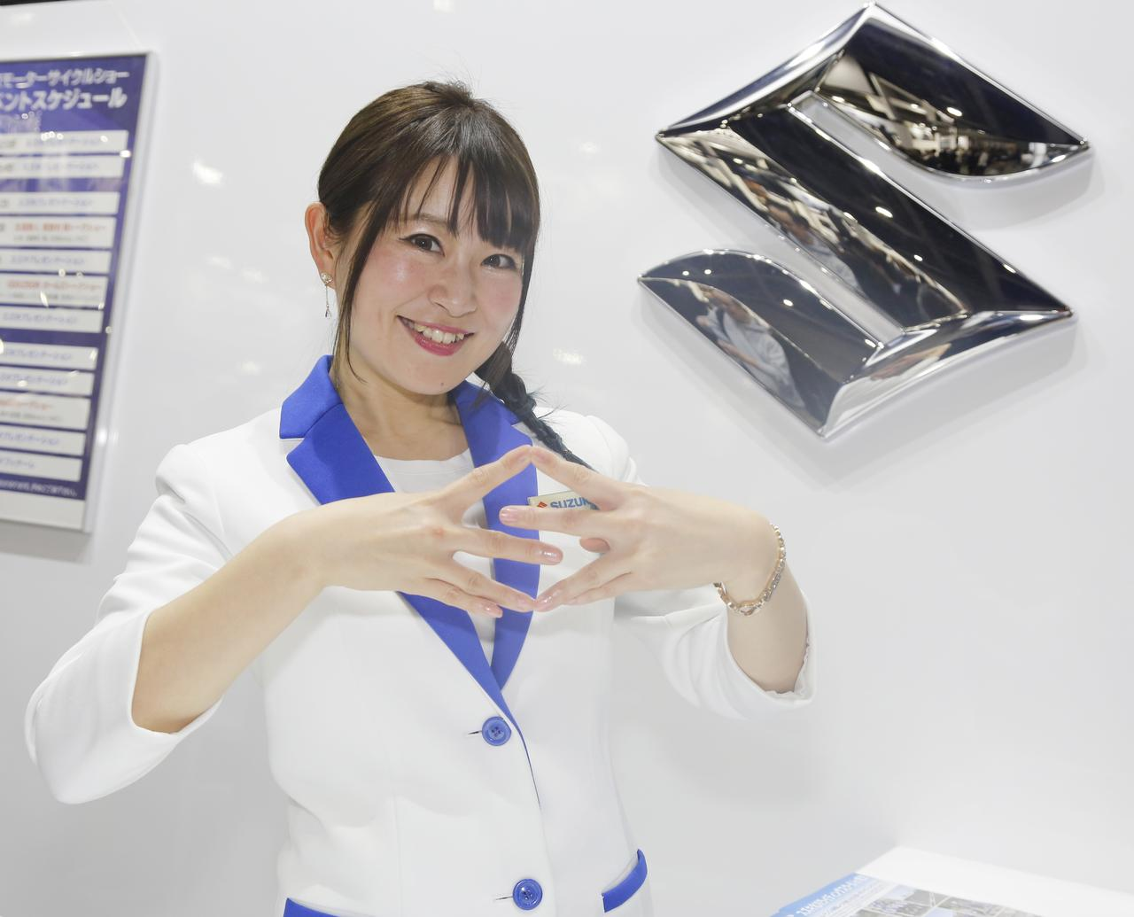 Images : 2番目の画像 - TMCS2019 美女コンパニオン図鑑! - webオートバイ