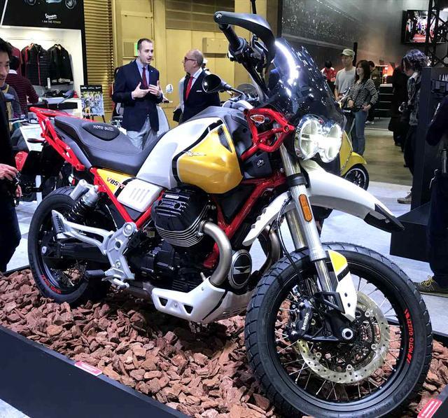 画像: MOTO GUZZI/V85 TT