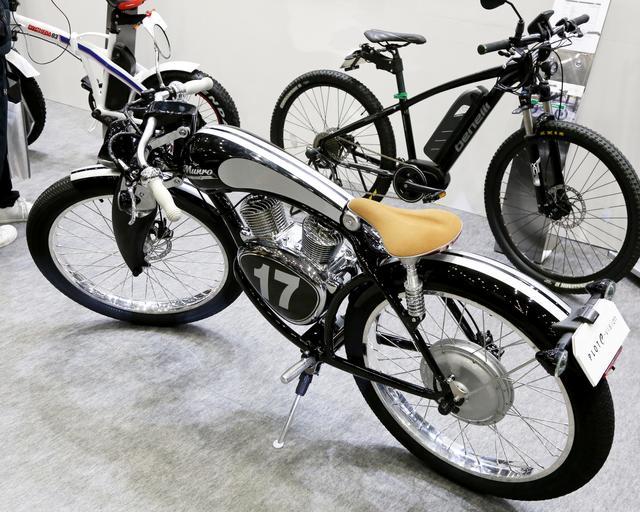 画像2: PLOTブース/Munro e-Bike