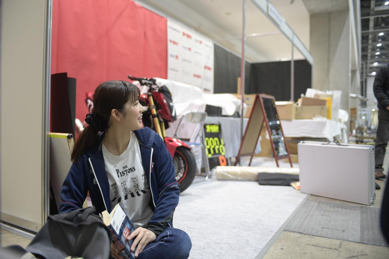 Images : 7番目の画像 - つづきは、こちらでどうぞ! オートバイ女子部の東京モーターサイクルショー2019 - webオートバイ