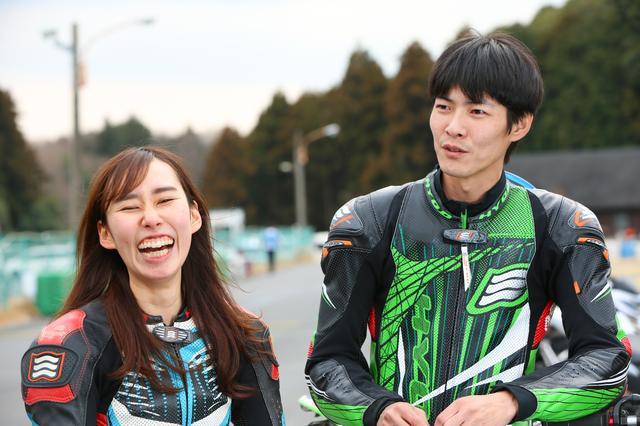 画像1: 「トップタイム比260%からのスタート」岡野 哲(C1級)・岡野月子(N級)