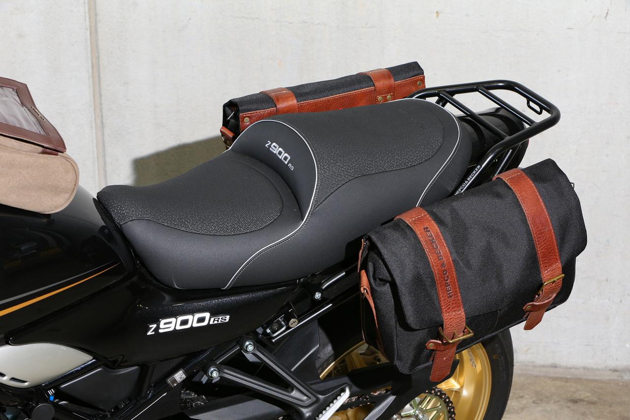 画像4: ②クラシカルなスタイリングを加速させる帆布製バッグのコーディネート カワサキ Z900RS