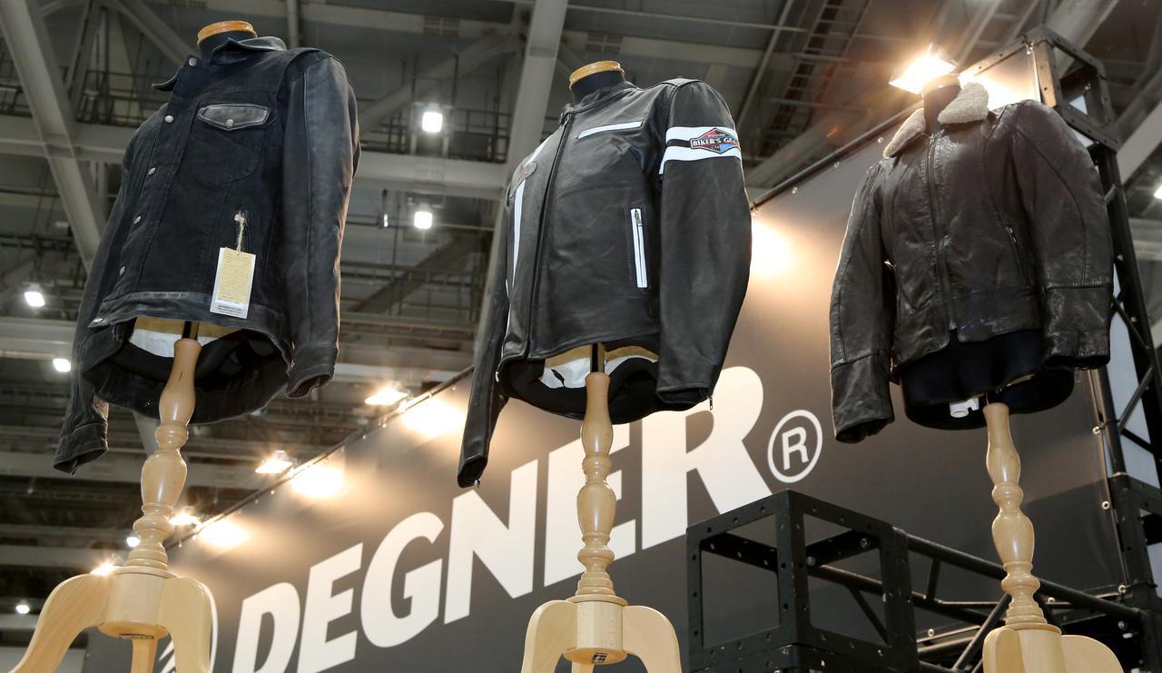 画像3: デグナーは東京モーターサイクルショーに初出展しました!
