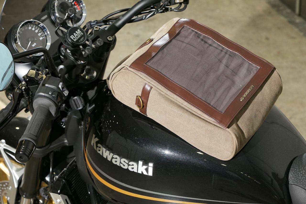 画像3: ②クラシカルなスタイリングを加速させる帆布製バッグのコーディネート カワサキ Z900RS