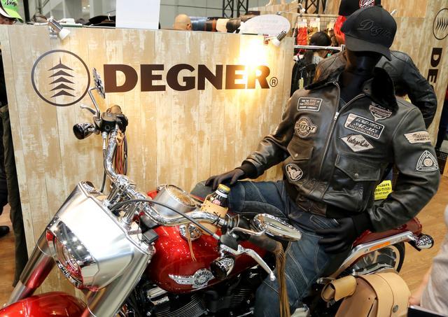 画像2: デグナーは東京モーターサイクルショーに初出展しました!