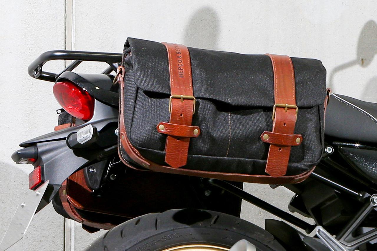 画像2: ②クラシカルなスタイリングを加速させる帆布製バッグのコーディネート カワサキ Z900RS