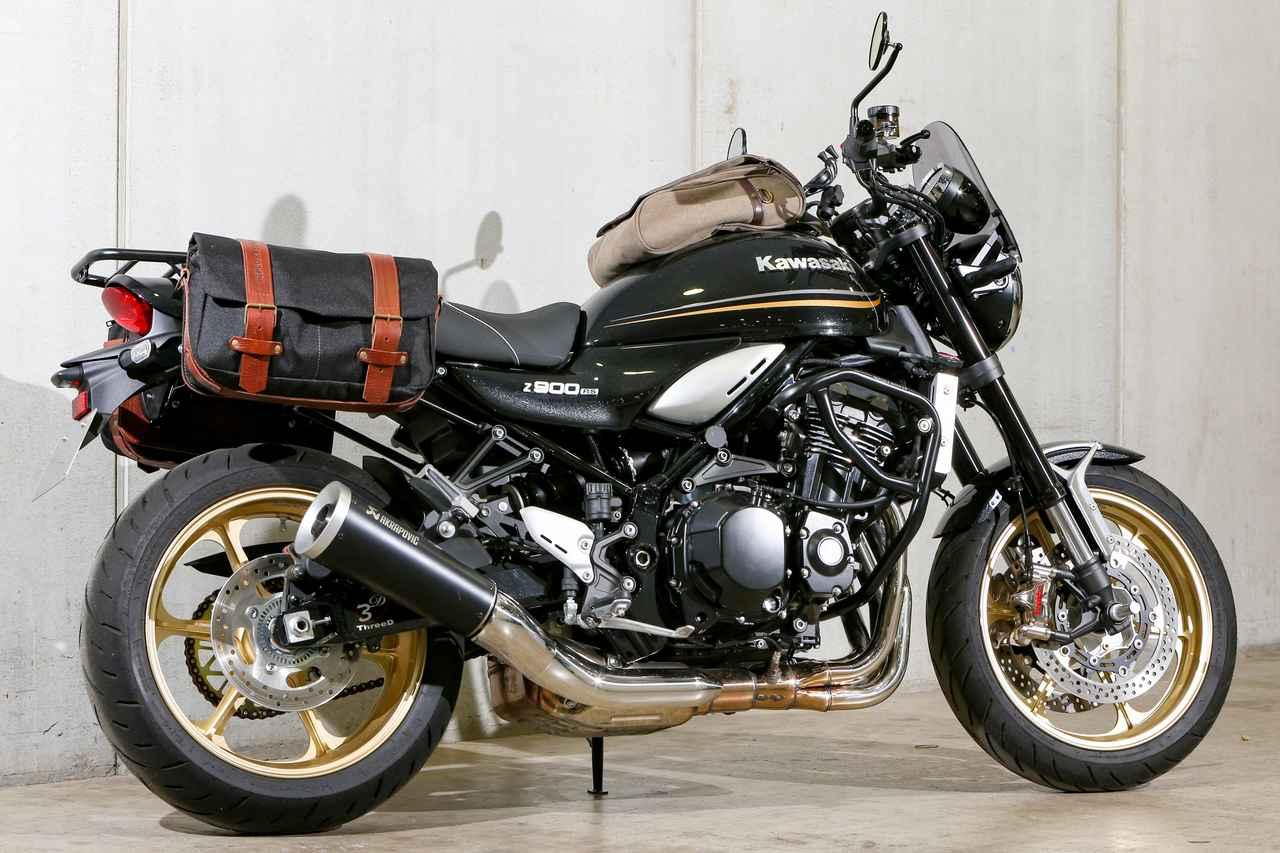 画像6: ②クラシカルなスタイリングを加速させる帆布製バッグのコーディネート カワサキ Z900RS