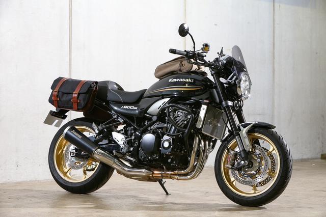 画像1: ②クラシカルなスタイリングを加速させる帆布製バッグのコーディネート カワサキ Z900RS