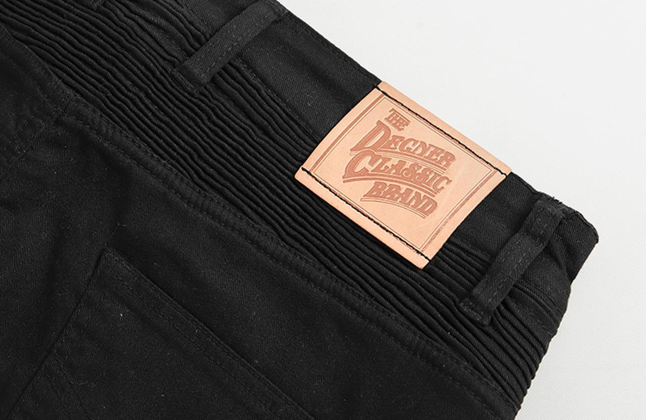 画像3: メンズコットンパンツ/ MEN'S COTTON PANTS(ブラック) [DP-31]