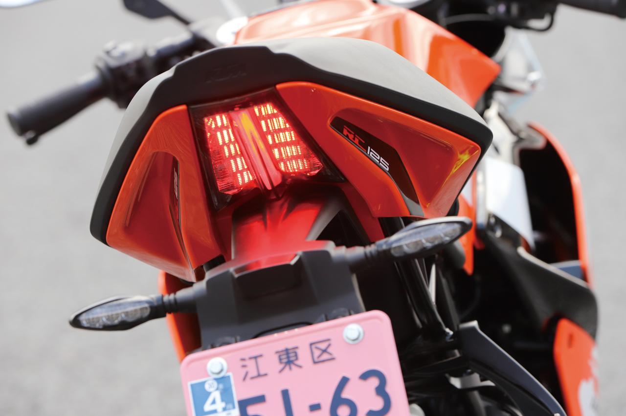 Images : 3番目の画像 - KTM RC125の細部を見てみよう! - webオートバイ