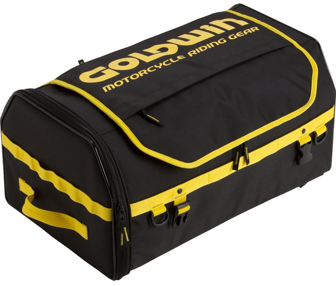 画像1: 東京モーターサイクルショー2019で発見したゴールドウインの新作バッグがまた流行りそう!