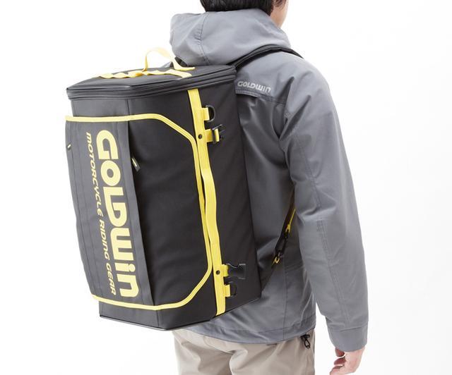 画像3: 東京モーターサイクルショー2019で発見したゴールドウインの新作バッグがまた流行りそう!