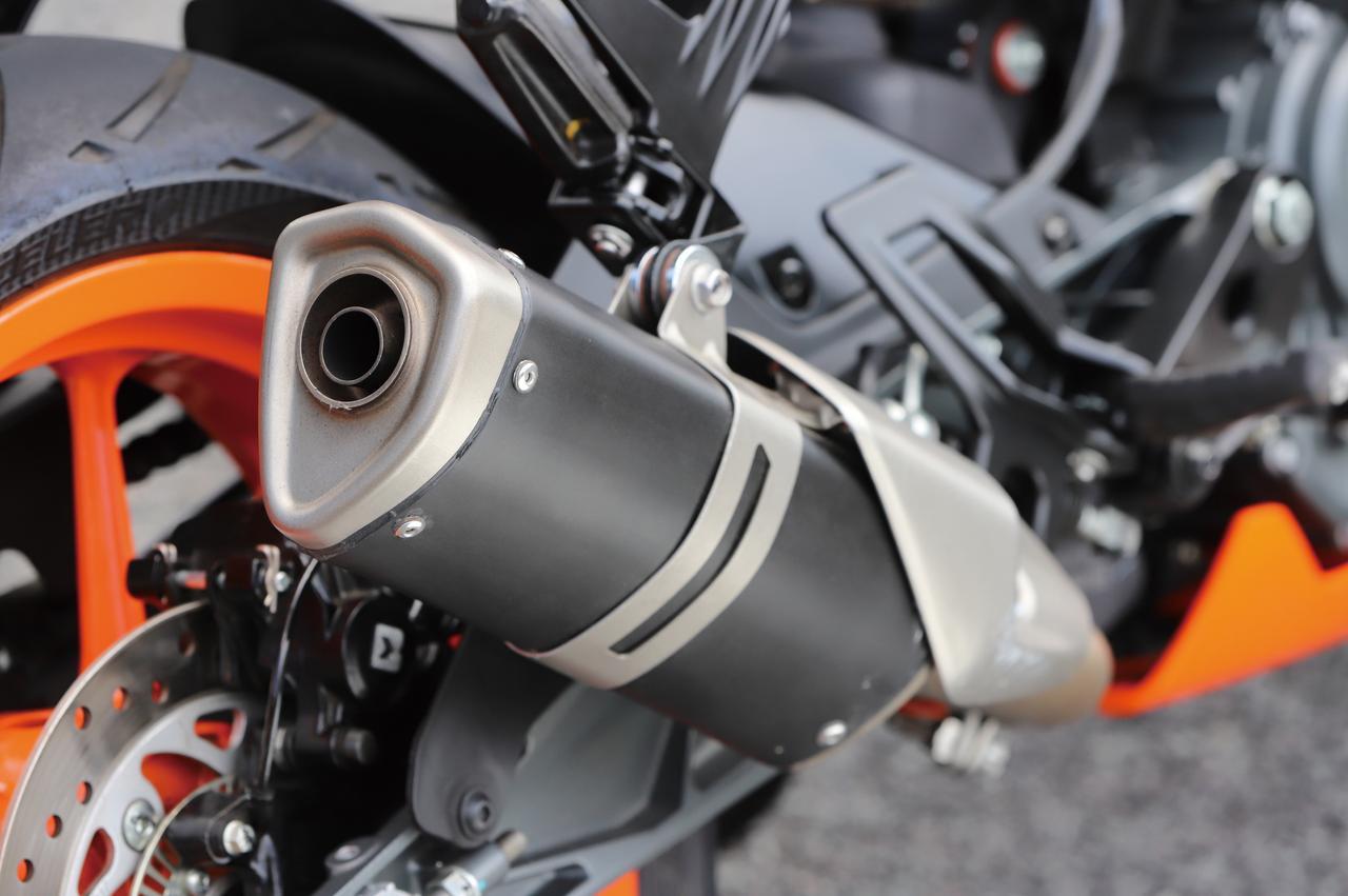 Images : 1番目の画像 - KTM RC125の細部を見てみよう! - webオートバイ