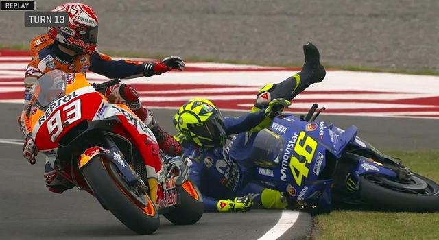 画像: <MotoGP> 遺恨、再び! ~レースを引っ掻き回したマルク・マルケス~ - webオートバイ