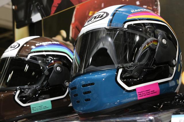 画像1: 2019年春以降、おすすめ最新ヘルメット! 大阪モーターサイクルショー2019で発表された各社のニューモデルをチェック【Arai・SHOEI・Kabuto編】 - webオートバイ