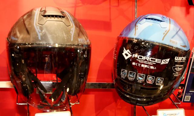 画像3: 日本ブランドの「WINS」からツーリングで便利そうなジェットヘルメットが登場