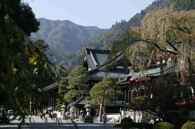 画像: 身延山久遠寺/写真提供:やまなし観光推進機構