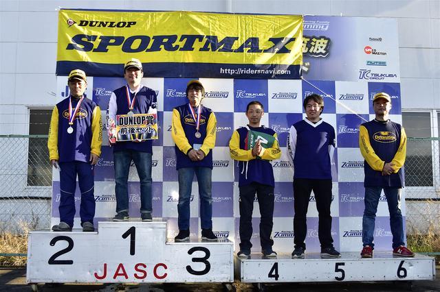 画像: 左から2位・吉野選手、1位・池田選手、3位・中嶋選手、4位・早川選手、5位・冨永選手、6位・大越選手