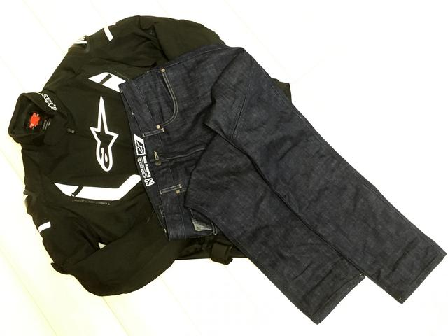 画像: ジャケットとジーンズでちょうどいい一日でした^^ ジャケット:アルパインスターズT-FASTER AIR ジーンズ:アルパインスターズPro-DENIM