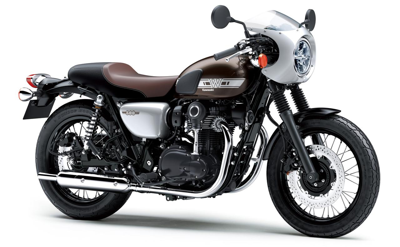 画像: Kawasaki W800 CAFE/排気量773cc/税込111万2,400円
