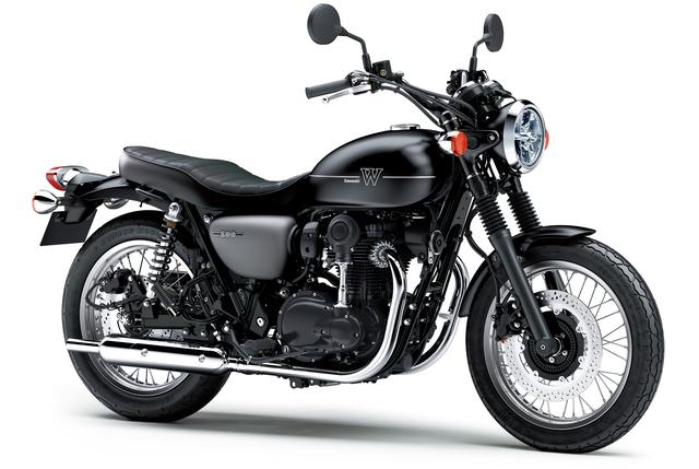 画像: Kawasaki W800 STREET/排気量773cc/税込99万3,600円