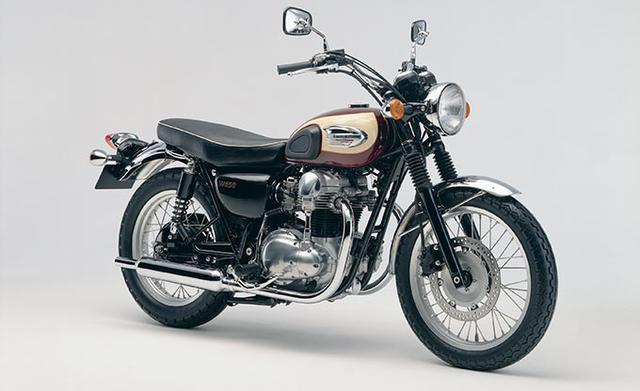 画像: 1999年に登場し、2009年まで販売されたW650。このバイクも好きだったなぁ。キックペダルでかけるのがかっこいいんですよねえ。
