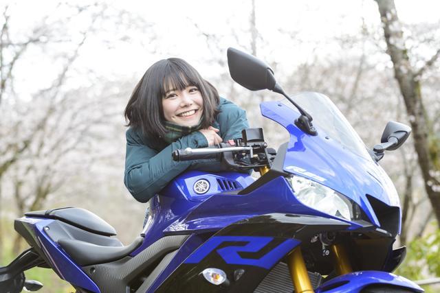 画像2: 美環×YAMAHA YZF-R25【オートバイ女子部のフォトアルバム】