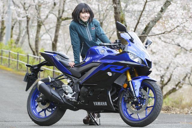 画像1: 美環×YAMAHA YZF-R25【オートバイ女子部のフォトアルバム】