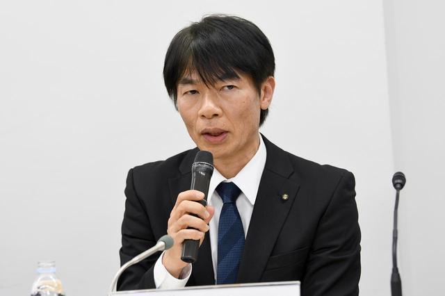 画像: スズキ株式会社 二輪カンパニー二輪企画部 部長 福留 武志氏